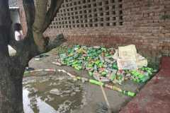 S4E collection of waste plastic bottles